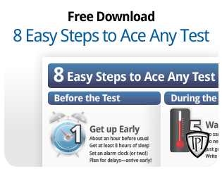 Free Download - 8 Steps to Ace Any Test