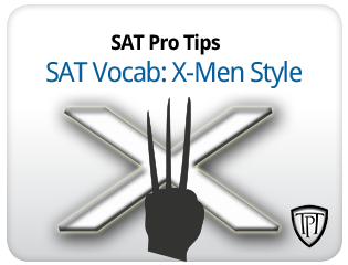 SAT Vocab: X-men Style!
